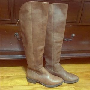 Arturo Chiang Over knee brown boots